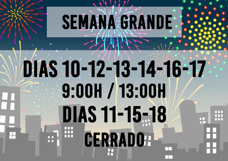 Aste Nagusia Semana Grande Donostia San Sebastián 2019